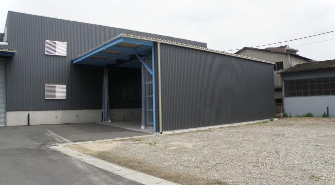 桜井市内の倉庫改修工事が完了しました