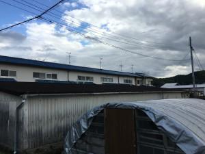 奈良ガレージ屋根張替え