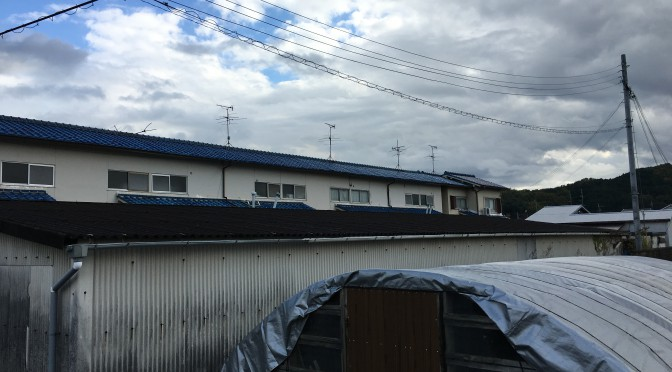 奈良 ガレージ屋根張替工事