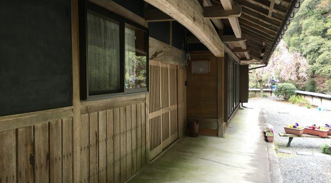 室生寺近くにて古民家物件