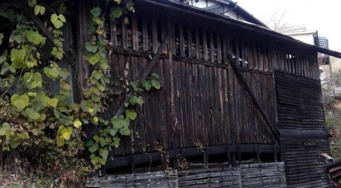 吉野山内の倉庫解体工事