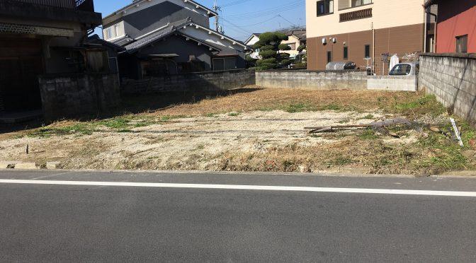桜井市安倍木材団地1丁目にて土地のご成約