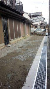 駐車場増設工事後