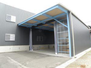 桜井市鉄骨倉庫増築工事