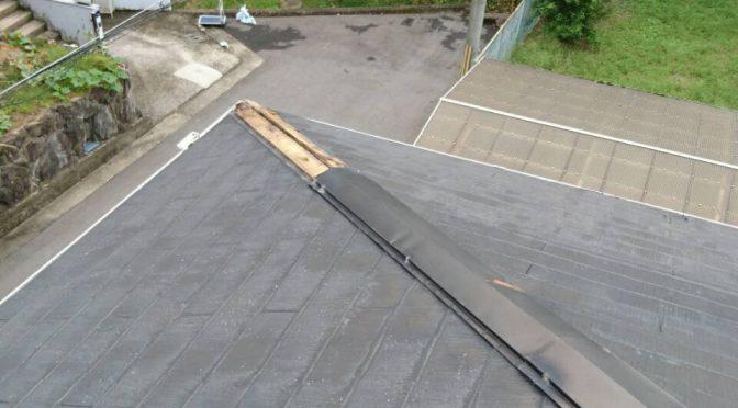 高取町下子島にて一戸建ての屋根補修