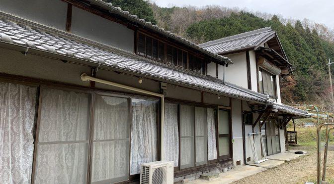 吉野町峰寺にて一戸建て物件が売却中