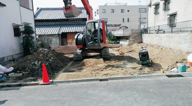 京都府八幡市内一戸建て解体工事
