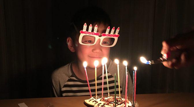 誕生日写真
