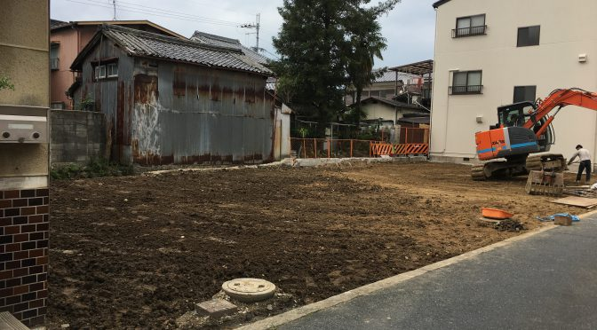 田原本町2軒解体工事