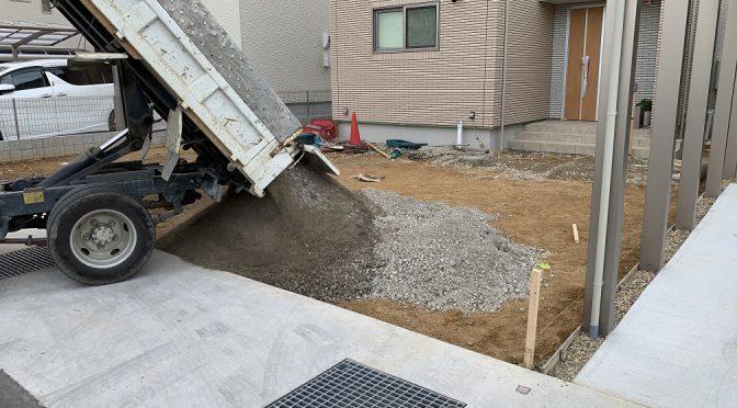 田原本町阪手外構工事
