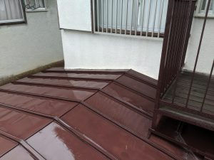 橿原市上品寺町一戸建て雨漏り補修工事