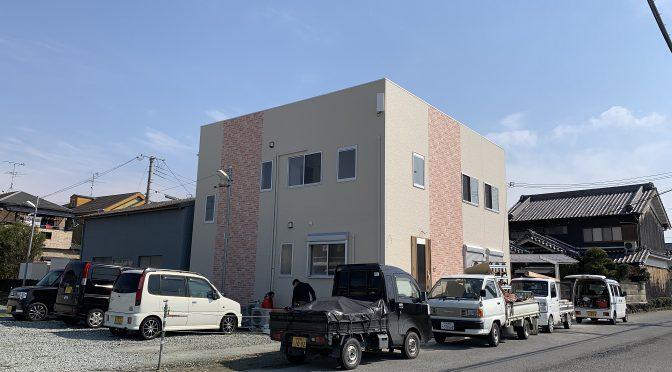 田原本町新町にて事務所建築工事