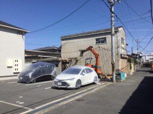 田原本町解体工事