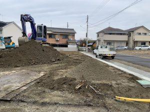 奈良県橿原市城殿町分譲造成工事