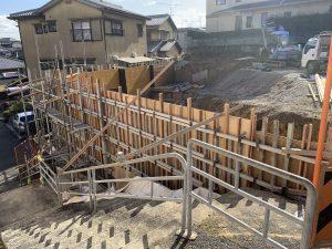 奈良市百楽園2丁目造成工事