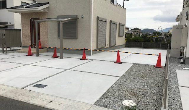 奈良県大和高田市秋吉にて新築一戸建て追加工事