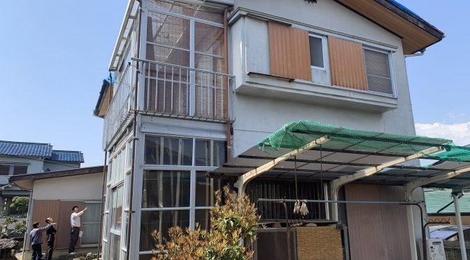枚方市杉山手にて一戸建て建物解体工事