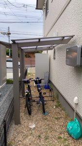 奈良県橿原市鳥屋町サイクルポート工事