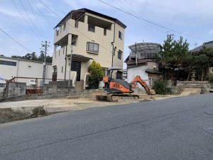 吉野郡大淀町下渕建物解体工事