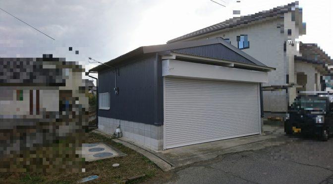 奈良県橿原市鳥屋町にて倉庫リニューアル工事