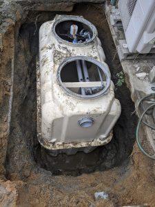 奈良県磯城郡田原本町阪手個別浄化槽工事