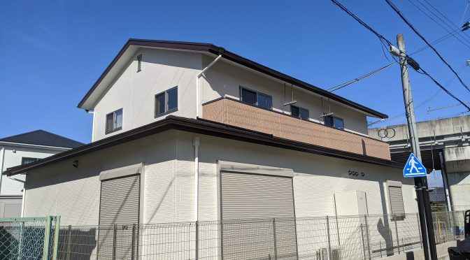 奈良県橿原市四条町にて事務所付住宅新築工事